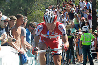 Mikhail Ignatyev during the stage of La Vuelta 2012 between Vilagarcia de Arousa and Mirador de Erazo (Dumbria).August 30,2012. (ALTERPHOTOS/Paola Otero) /NortePhoto.com<br />