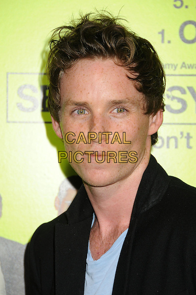"Eddie Redmayne.""Seven Psychopaths"" Los Angeles Premiere held at the Bruin Theatre, Westwood, California, USA..October 1st, 2012.headshot portrait black blue.CAP/ADM/BP.©Byron Purvis/AdMedia/Capital Pictures."