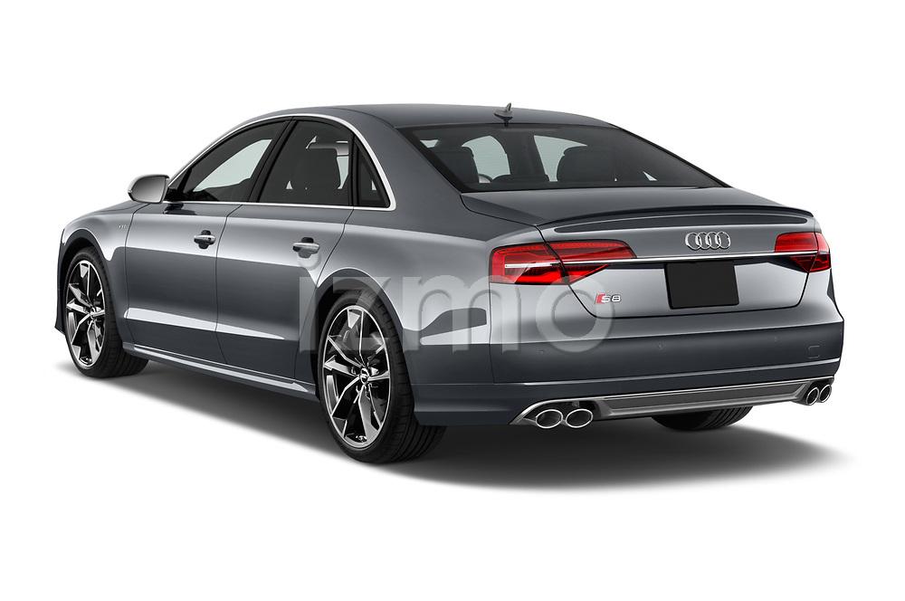 Car pictures of rear three quarter view of 2016 Audi S8 4.0-TFSI-quattro-Tiptronic-Plus  4 Door Sedan angular rear