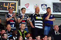 A general view of Bristol Rugby supporters enjoying the atmosphere. Greene King IPA Championship Play-off Final (second leg), between Bristol Rugby and Doncaster Knights on May 25, 2016 at Ashton Gate Stadium in Bristol, England. Photo by: Patrick Khachfe / JMP