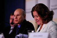 BRASÍLIA, DF, 15 DE FEVEREIRO 2012 - Programação Financeira e Orçamentária para 2012 - A ministra do Planejamento, Orçamento e Gestão, Miriam Belchior, e o ministro da Fazenda, Guido Mantega, apresentaram nesta quarta-feira, 15 de fevereiro, a Programação Financeira e Orçamentária para 2012. (FOTO: PEDRO FRANÇA - BRAZIL PHOTO PRESS)