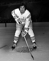 California Golden Seals hockey player, Wayne King,<br />(1974 photo/Ron Riesterer)
