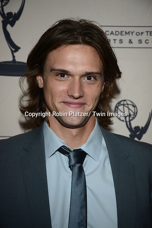 Hartley Sawyer attends the Academy Of Television Arts & Science Daytime Programming  Peer Group Celebration for the 40th Annual Daytime Emmy Awards Nominees party on June 13, 2013 at the Montage Beverly Hills in Beverly Hills, California.