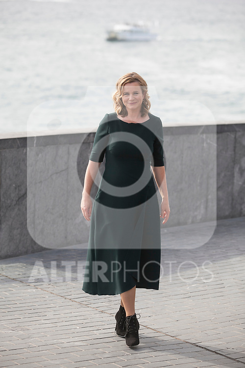 Awarded actress Emily Watson arrives to photocall during 63rd Donostia Zinemaldia (San Sebastian International Film Festival) in San Sebastian, Spain. September 25, 2015. (ALTERPHOTOS/Victor Blanco)