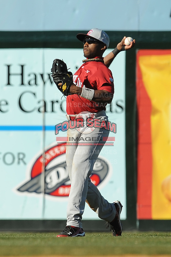 Jackie Bradley Jr. (Center Fielder) South Carolina Gamecocks (Photo by Tony Farlow/Four Seam Images)