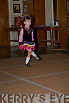Donna Kiley under 6s in dancing her steps in the 14th Annaul Causeway Feis at Causeway Comprehensive Secondry School, on Sunday................... . ............................... ..........