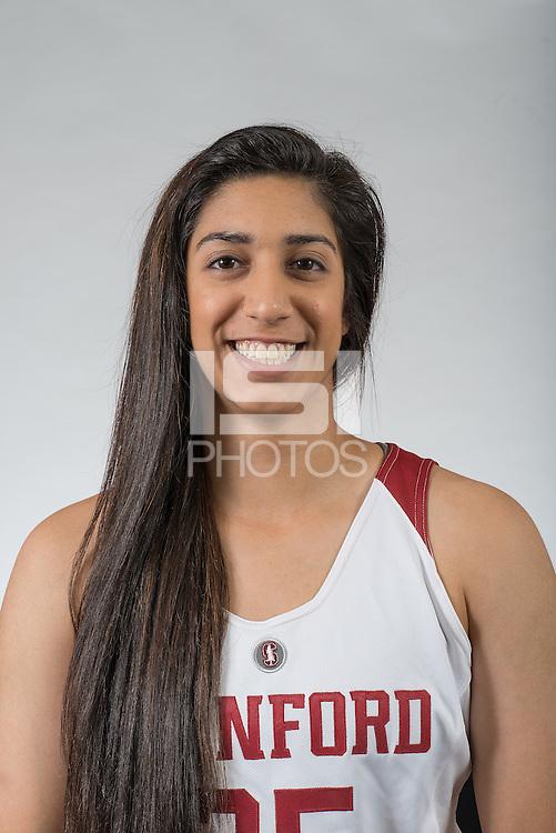 STANFORD, CA - November 5, 2015: The Stanford Cardinal 2015-2016 Women's Basketball Team
