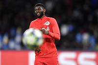 Jerome Onguene of FC Salzburg <br /> Napoli 05-11-2019 Stadio San Paolo <br /> Football Champions League 2019/2020 Group E<br /> SSC Napoli - FC Salzburg<br /> Photo Antonietta Baldassarre / Insidefoto