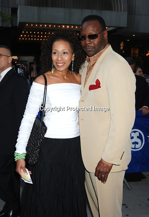 """Tamara Tunie and husband Gregory Generet ..atThe Broadway Opening of """"Faith Healer"""" on May 4, 2006..at The Booth Theatre. ..Robin Platzer, Twin Images"""