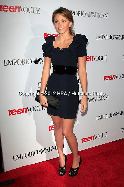 LOS ANGELES - SEP 27:  Aimee Teegarden at the Teen Vogue's 10th Annual Young Hollywood Party at Private Location on September 27, 2012 in Beverly Hills, CA