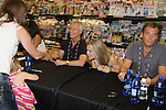 """Days Of Our Lives - Greg Vaughan,  Wally Kurth, Melissa Reeves meet the fans as they sign """"Days Of Our Lives Better Living"""" on September 27, 2013 at Books-A-Million in Nashville, Tennessee. (Photo by Sue Coflin/Max Photos)"""