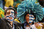 16 JUN 2010: Uruguay fans. The South Africa National Team lost 0-3 to the Uruguay National Team at Loftus Versfeld Stadium in Tshwane/Pretoria, South Africa in a 2010 FIFA World Cup Group A match.