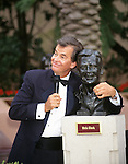 Dick Clark pictured at the Academy of TV Arts and Sciences Hall of Fame in Disney World on October 5, 1996.