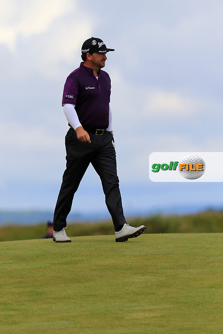 Graeme McDOWELL (NIR) on the 14th hole during Sunday's Round  of the 144th Open Championship, St Andrews Old Course, St Andrews, Fife, Scotland. 19/07/2015.<br /> Picture Eoin Clarke, www.golffile.ie