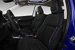 Front seat view of 2017 Toyota Corolla XSE-AT 4 Door Sedan Front Seat  car photos