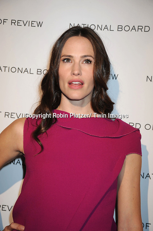 Jennifer Garner arriving at The National Board of Review of Motion Pictures Awards Gala on .January 11, 2011 at Cipriani 42nd Street in New York City.