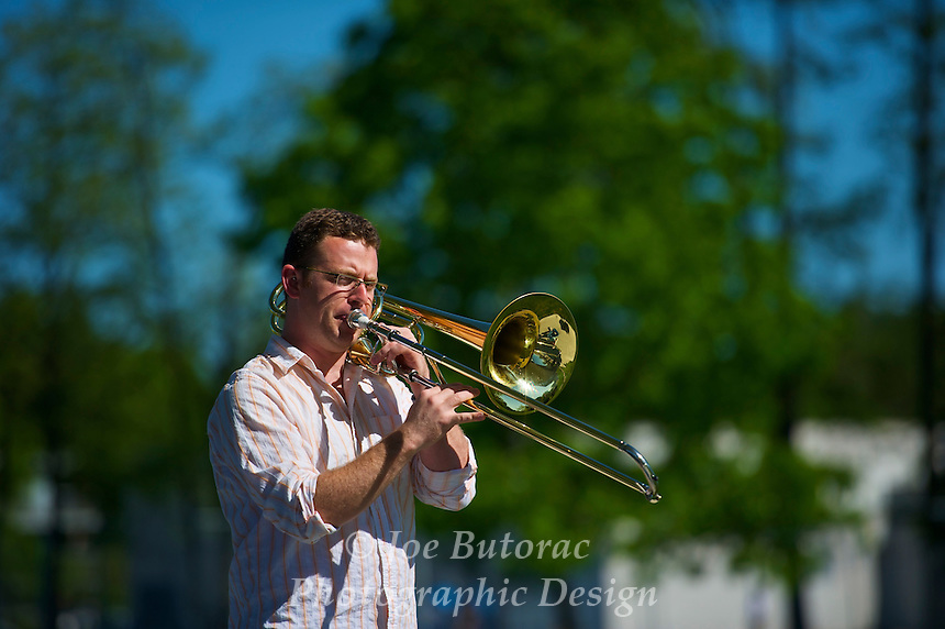 Ryan Crawford, The Other Big Band, Langley Jazz Festival Douglas Park Langley B.C. June 5 2010
