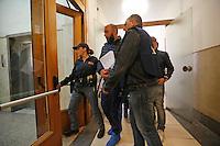 Arresti Clan Forcella denominata &quot;Paranza dei Bambini&quot;<br /> nella foto Massimo GalloNapoli operazione della polizia contro la cosidetta Paranza dei Bambini , clan egemone a forcella ed altri quartieri del centro cittadino, tra i capi anche alcune donne