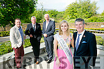 Tralee Chamber Alliance and the Rose of Tralee International Festival Business Networking Breakfast at the Rose Hotel on Friday. Pictured l-r  Bryan Carr - Event Controller of the Rose of Tralee International Festival, Kieran Ruttledge, CEO Tralee Chamber Alliance, Dermot Leen, AIB Bank, Elysha Brennan, Rose of Tralee, Anthony O'Gara - Executive Chair of the Rose of Tralee International Festival,