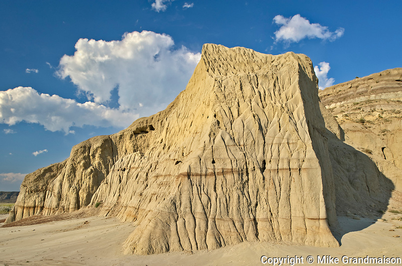 Castle Butte in the Big Muddy Badlands<br />Near Bengough<br />Saskatchewan<br />Canada