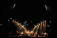 The Grateful Dead Live at the Knickerbocker Arena, Albany NY, 24 March 1990. View from the Lighting Booth, Dead Center, Floor.
