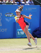 June 16th 2017, Nottingham, England;WTA Aegon Nottingham Open Tennis Tournament day 7;  Forehand from Johanna Konta of Great Britain; Konta won 6-3, 7-5 to reach the semi finals