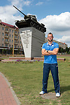 St Johnstone v FC Minsk...31.07.13<br /> Keeper Alan Mannus in Grodno in Belarus where saints will play FC Minsk tomorrow night.<br /> Picture by Graeme Hart.<br /> Copyright Perthshire Picture Agency<br /> Tel: 01738 623350  Mobile: 07990 594431