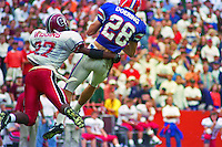 Chris Doering (28), Lee Wiggins (27), University of Florida Gators defeat the University of South Carolina Gamecocks 48-17 at Ben Hill Griffin Stadium, Florida Field, Gainseville, Florida, November 12, 1994 . (Photo by Brian Cleary/www.bcpix.com)