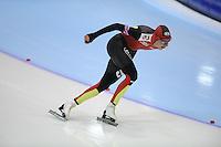 SCHAATSEN: HEERENVEEN: Thialf, World Cup, 03-12-11, 10000m A, Bart Swings BEL, ©foto: Martin de Jong