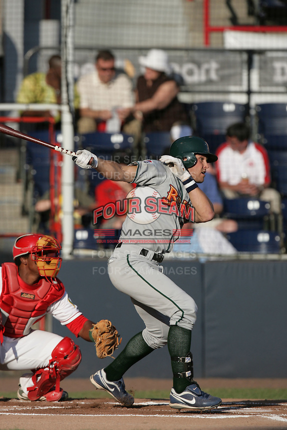 July 11 2009: Brett Jackson of the Boise Hawks during game against the Vancouver Canadians at Nat Bailey Stadium in Vancouver,BC,Canada.  Photo by Larry Goren/Four Seam Images