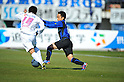 Yusuke Maruhashi (Cerezo)/Takahiro Futagawa (Gamba),MARCH 5, 2011 - Football :2011 J.League Division 1 match between Gamba Osaka 2-1 Cerezo Osaka at Expo '70 Stadium in Osaka, Japan. (Photo by AFLO)