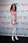 Sofia Resing arrives at Heidi Klum's 18th Annual Halloween Party presented by Party City and SVEDKA Vodka at Magic Hour Rooftop Bar & Lounge at Moxy Times Square, on October 31, 2017.
