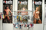 P Kante Spicy Underwear on display during the CURVENY Designer Lingerie & Swim show, at the Jacob Javits Convention Center, August 3, 2010.