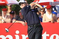 Paul Lawrie (SCO) on the third day of the DUBAI WORLD CHAMPIONSHIP presented by DP World, Jumeirah Golf Estates, Dubai, United Arab Emirates.Picture Denise Cleary www.golffile.ie