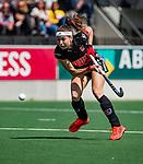 AMSTELVEEN  -  Eva de Goede (A'dam).   Hoofdklasse hockey dames ,competitie, dames, Amsterdam-Groningen (9-0) .     COPYRIGHT KOEN SUYK