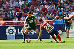 Atletico de Madrid's Jose Maria Gimenez and SD Eibar's Paulo Oliveira during La Liga match. September 15, 2018. (ALTERPHOTOS/A. Perez Meca)