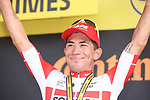 Caleb Ewan (AUS) Lotto-Soudal wins Stage 16 of the 2019 Tour de France running 177km from Nimes to Nimes, France. 23rd July 2019.<br /> Picture: Colin Flockton | Cyclefile<br /> All photos usage must carry mandatory copyright credit (© Cyclefile | Colin Flockton)
