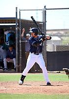 Luke Becker - San Diego Padres 2019 extended spring training (Bill Mitchell)