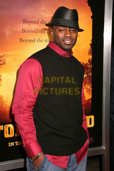 "ROB HARDY Executive Producer.""Stomp The Yard"" Los Angeles Premiere at Arclight Cinemas, Hollywood, California, USA, 8 January 2007..half length hat.CAP/ADM/BP.©Byron Purvis/AdMedia/Capital Pictures."
