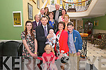 Michael and Sheila Courtney from Knocknagree celebrated christening of their son Jamie surrounded by friends and family in the Domhall Hotel, Killarney last sunday.