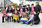 The Samba Mamas and friends at the Gay Pride festival on West Street. Photo:Colin Bell/pressphotos.ie