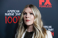 """LOS ANGELES - OCT 26:  Lily Rabe at the """"American Horror Story"""" 100th Episode Celebration at the Hollywood Forever Cemetary on October 26, 2019 in Los Angeles, CA"""