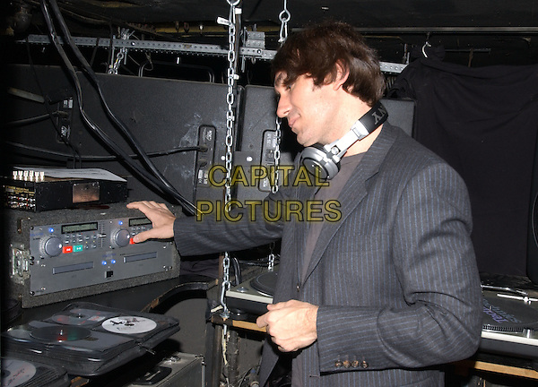 DJ BRENT BOLTHOUSE.Backstage at The Camp Freddy South East Asia Tsunami Relief Fund Benefit held at The Key Club in West Hollywood, California .*EXCLUSIVE* .January 27th, 2005.half length, headphones, music.www.capitalpictures.com.sales@capitalpictures.com.Supplied By Capital PIctures