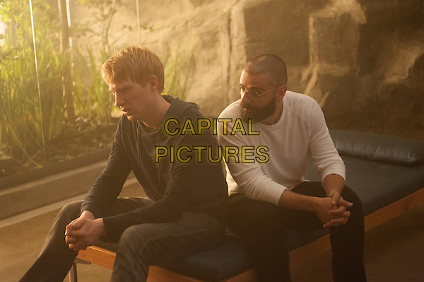 Domhnall Gleeson, Oscar Isaac <br /> in Ex Machina (2015)<br /> *Filmstill - Editorial Use Only*<br /> CAP/NFS<br /> Image supplied by Capital Pictures