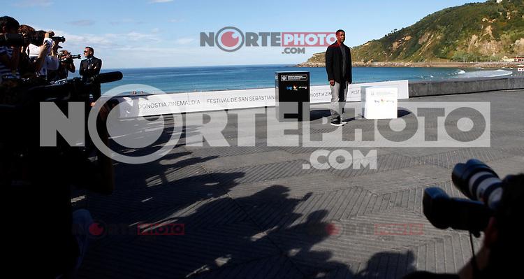 US actor Denzel Wahington presents the film 'The Equalizer during the 62st San Sebastian Film Festival in San Sebastian, Spain. September 19, 2014. (ALTERPHOTOS/Caro Marin) /NortePhoto.com