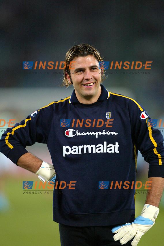 Roma 14/1/2004 - Coppa Italia<br /> Lazio Parma 2-0<br /> Sebastien Frey (Parma)<br /> Foto Andrea Staccioli Insidefoto