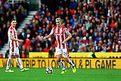 9th September 2017, bet365 Stadium, Stoke-on-Trent, England; EPL Premier League football, Stoke City versus Manchester United; Darren Fletcher of Stoke City in possession
