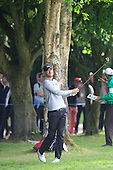 Chris WOOD (ENG) during round 2 of the 2015 BMW PGA Championship over the West Course at Wentworth, Virgina Water, London. 22/05/2015<br /> Picture Fran Caffrey, www.golffile.ie: