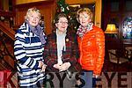 Enjoying the Presentation Secondary Castleisland School's 90th celebrations at River Island Hotel on Friday were Betty Walsh, Nora Walsh, Rita McCarthy
