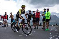 Simon Yates (AUS/Mitchelton Scott) up the Col du Galibier (HC/2622m/23km@5.1%)<br /> <br /> Stage 18: Embrun to Valloire (208km)<br /> 106th Tour de France 2019 (2.UWT)<br /> <br /> ©kramon